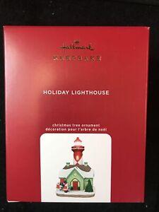 2020 Hallmark Ornaments Holiday Lighthouse #9 in Series Magic Light