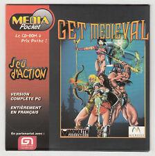 *** Get Medieval *** CDRom PC - Neuf - vintage 1998