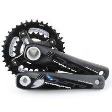 FSA Afterburner Mountain Bike Hollow Forged Crankset 38/24 10 Speed 170mm//Black