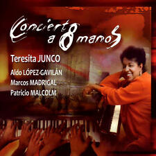 CD Concierto a 8 Manos Various Artists Latin Music Aldo Lopez World Musica Cuba
