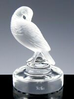 Lalique France Crystal Figurine Paperweight PHEASANT PARADISE BIRD Mint