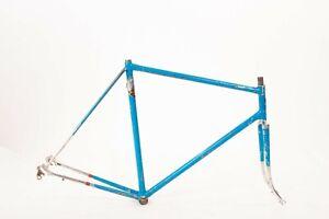 Vintage Bottecchia Road Bicycle Frame Set 60cm Classic Racing Italian Frame RARE