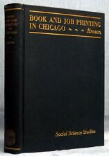 Chicago Book & Job Printing, 1931   (5845)