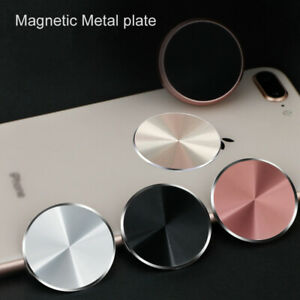 4Pack Metal Plate Magnetic Sticker For Car Mount Magnet Phone Holder Iron Sheet