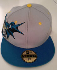 New Era 59Fifty Batman Action Pose Fitted Hat-New Old Stock - 7 3/8 - 2009