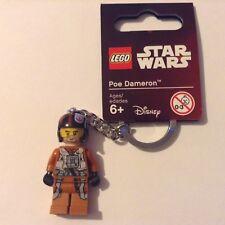 LEGO Star Wars - POE DAMERON Minifigure Keyring - 853605 - NEW - Disney Keyhain