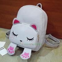 Fashion Women's Leather Backpack Shoulder Bag Travel Handbag School Bag Rucksack