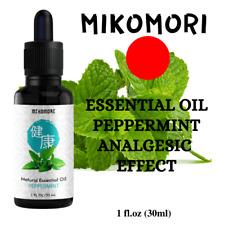 Essential Oil MIKOMORI Peppermint 30 ml (1fl.oz) Colds and Flu Оrganic 100%