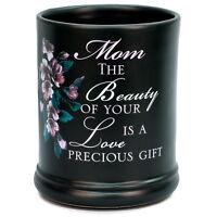 Mom Precious Gift Ceramic Stoneware Electric Large Jar Candle Warmer