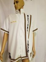 Rare Nike 1972 Warm Up Shooting Shirt Nacional Embroidered Just Do It Basketball