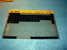 Yamaha RD350LC 80 RD 350 LC 1980 Gen Piezas Microfichas catálogo 80