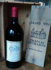 Magnum Château Peyrabon 1973 Haut-Médoc, sûrement 5 litres poids bteille 6,8 kg