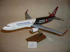 """TURKISH AIRLINES """"B737-800 PASSENGER PLANE (1:100 SCALE) NEW BOXED"""