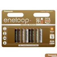 8x Panasonic Eneloop EARTH Tones AAA batteries 750mAh Rechargeable NiMh BK-4MCCE
