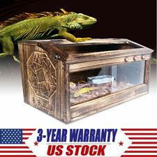 Brown Reptile Cage Critter Condo,Snake,Lizard,Bearde d Dragon 80*40*40Cm