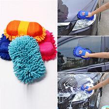 Car Auto Vehicle Microfiber Chenille Care Cleaning Tool Washing Brush Sponge Pad