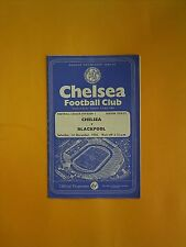 League Division One - Chelsea v Blackpool - 1st December 1956