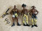 Mattel WWE Elite The New Day Action Figure Bundle Wrestling WWF With Accessories