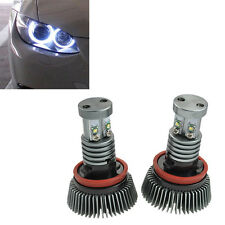 2 AMPOULE LED ANGEL EYES BMW SERIE 1 3 5 6 X5 X6 2x 20W ULTRA BLANC XENON CANBUS