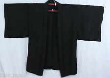 羽織 Haori japanese - Silk black - Jacket Japanese 1355