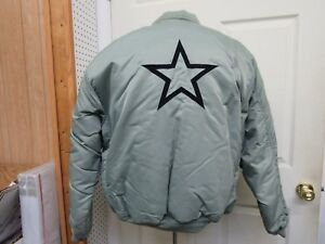Miltec by Sturm MA-1 Bomber Flight Jacket w/ Star Flyers Coat Vintage Siz XL NOS