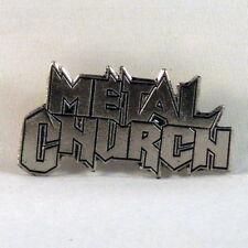METAL CHURCH Band Logo (Pin Badge) (NEW)