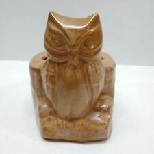 Owl Toothbrush Holder Vintage