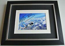 Felix Baumgartner SIGNED 10x8 FRAMED Photo Autograph Display Space AFTAL & COA