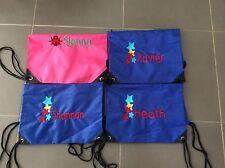 Personalised Kids Library Bag / Preschool Bag