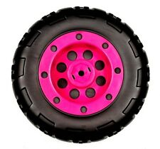 Peg Perego 12 Volt Battery Powered Pink Coral T-Rex Quad Bike Rear Wheel