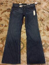 Ralph Lauren Kelly Stretch Bootcut Womens Blue Denim Jeans Size 10/30x 32 NWT
