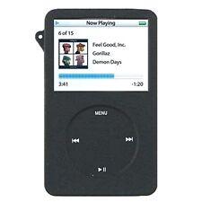 Silikoncase für apple ipod classic 6G, Hülle skin case cover Silikon, schwarz