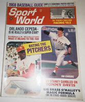 Sport Life Magazine Orlando Cepeda & Jim Lonborg June 1968 NO ML 072414R