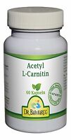Dr. Bawareg - Acetyl L-Carnitin 500mg 60 veg. Kapseln - PURE ohne Zusatzstoffe