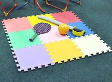 12 PACKS  INDOOR OUTDOOR KIDS CHILDRENS FOAM PLAY MAT SET TILES SAFETY   PLAYM