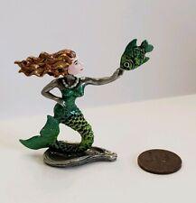 Handpainted Miniature Mermaid Figurine