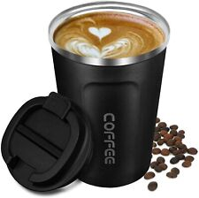 Senelux Double Wall Insulated Coffee Cup Stainless Travel Mug 13oz 380ml 18oz