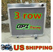 3ROWS RADIATOR 67-69 FORD MUSTANG/TORINO/LTD V8/COUNTRY/ Galaxie