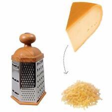 MULTIUSO Professional Grattugia Shredder per formaggio zenzero aglio 6 lati