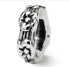 Sterling Silver Reflections Floral Spacer Bead QRS129