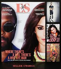 WILL.I.AM & CHERYL COLE RITA ORA OSCAR PISTORIUS ES MAGAZINE AUGUST 2012 NEW