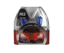 H11 7500K 55W Replacement Fog Light / Lamp Bulbs HID Look Xenon Blue