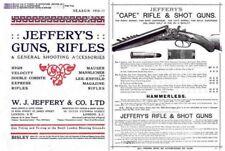 Jeffery 1910-1911 Gun, Rifle and Accessory Catalog (Uk)