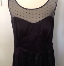CITY CHIC Black Formal / Cocktail Dress - Size S