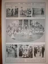 Photos Welcome for Prince of Wales Calcutta Maidan 1922