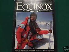 MOUNT EVEREST CANADIANS EXPEDITION EQUINOX  JAN.  1983