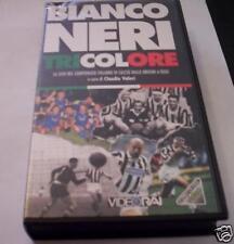 BIANCONERO TRICOLORE VHS storia Juventus campionato