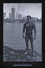 ARNOLD SCHWARZENEGGER Poster  - Discipline Full Size 24x36 ~ Mr Olympia