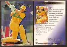 FUTERA 1996 WORLD CUP CRICKET Mark Taylor Retrospective Card. AR1 #0970 of 1000