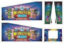 Monster Bash Pinball Cabinet Decals NEW Next Generation Technology :  Mr Pinball